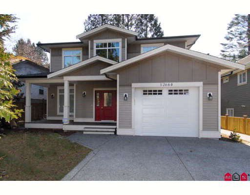 """Main Photo: 12664 16TH Avenue in Surrey: Crescent Bch Ocean Pk. House for sale in """"OCEAN PARK"""" (South Surrey White Rock)  : MLS®# F2903509"""
