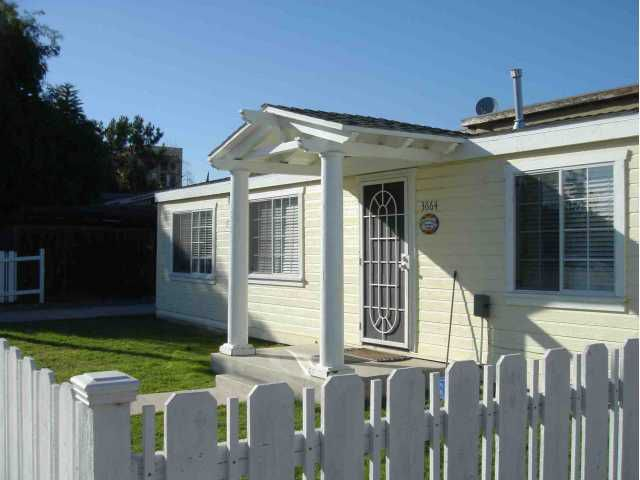 Main Photo: NORMAL HEIGHTS House for sale : 2 bedrooms : 3664 Monroe Ave in San Diego