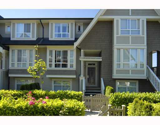 "Main Photo: 68 9133 SILLS Avenue in Richmond: McLennan North Townhouse for sale in ""LEIGHTON GREEN"" : MLS®# V774717"