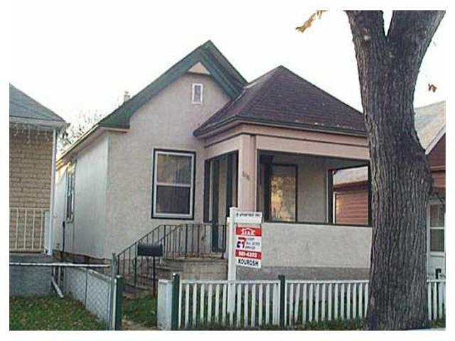Main Photo: 608 BEVERLEY Street in WINNIPEG: West End / Wolseley Residential for sale (West Winnipeg)  : MLS®# 2312142