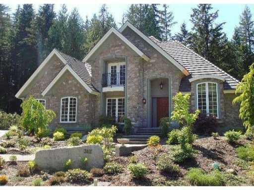 """Main Photo: 312 FORESTVIEW Lane: Anmore House for sale in """"CRYSTAL CREEK"""" (Port Moody)  : MLS®# V868121"""