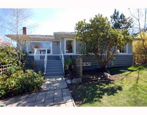 Main Photo: 3309 PUGET Drive in Vancouver: Arbutus House for sale (Vancouver West)  : MLS®# V760179