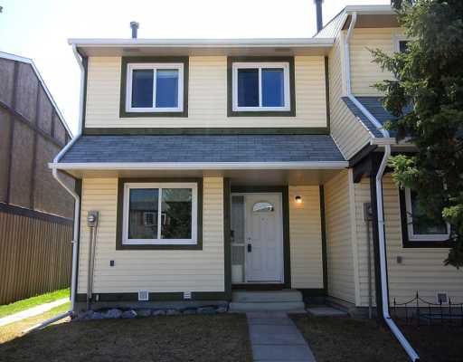 Main Photo:  in CALGARY: Marlborough Park Townhouse for sale (Calgary)  : MLS®# C3376810