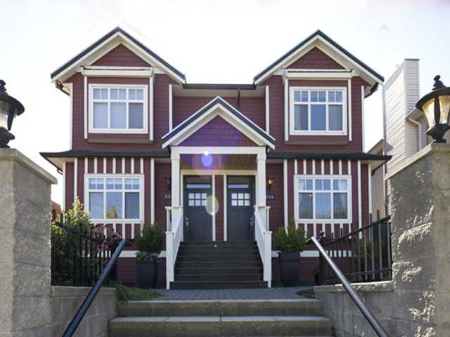Main Photo: 280 E 16TH Avenue in Vancouver: Main House 1/2 Duplex for sale (Vancouver East)  : MLS®# V849607