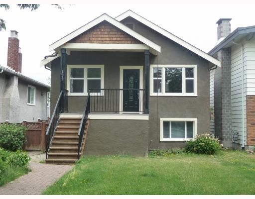 Main Photo: 1617 E 36TH Avenue in Vancouver: Knight House for sale (Vancouver East)  : MLS®# V773990