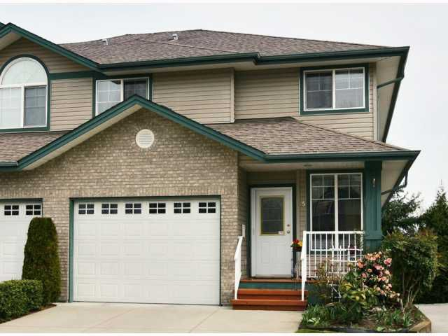 "Main Photo: 25 11358 COTTONWOOD Drive in Maple Ridge: Cottonwood MR Townhouse for sale in ""CARRIAGE LANE"" : MLS®# V816214"