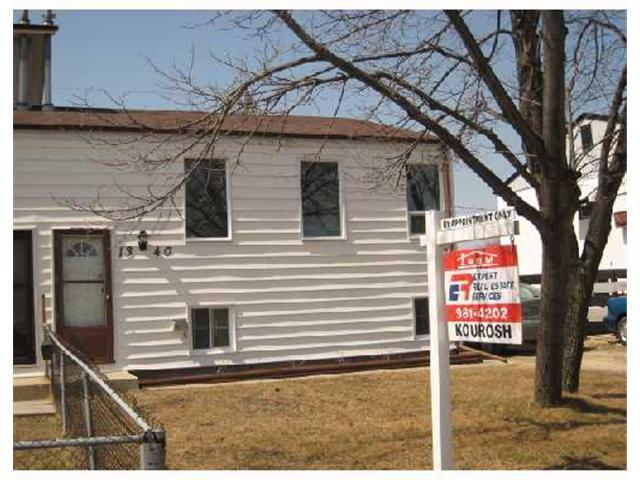 Main Photo: 1340 AIKINS Street in WINNIPEG: West Kildonan / Garden City Residential for sale (North West Winnipeg)  : MLS®# 2806555