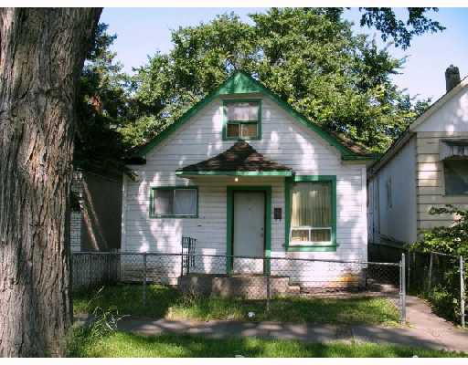 Main Photo:  in WINNIPEG: North End Residential for sale (North West Winnipeg)  : MLS®# 2816397