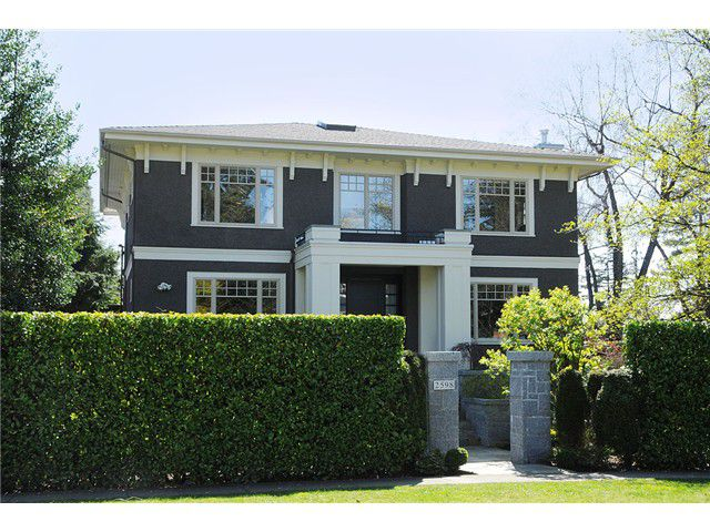 "Main Photo: 2598 W 37TH Avenue in Vancouver: Kerrisdale House for sale in ""KERRISDALE"" (Vancouver West)  : MLS®# V821565"