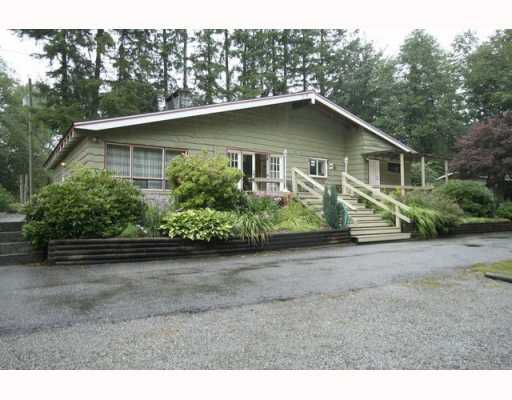 Main Photo: 10494 280TH Street in Maple_Ridge: Whonnock House for sale (Maple Ridge)  : MLS®# V781149