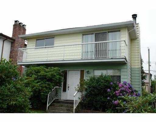 Main Photo: 3268 E 18TH Avenue in Vancouver: Renfrew Heights House for sale (Vancouver East)  : MLS®# V744962