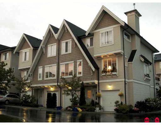 """Main Photo: 45 20560 66TH Avenue in Langley: Willoughby Heights Townhouse for sale in """"AmberLeigh"""" : MLS®# F2903336"""