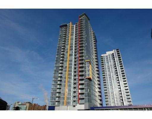 """Main Photo: 1803 111 W GEORGIA Street in Vancouver: Downtown VW Condo for sale in """"SPECTRUM I"""" (Vancouver West)  : MLS®# V773767"""