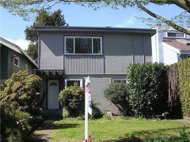 Main Photo: 1329 CYPRESS Street in Vancouver: Kitsilano House Duplex for sale (Vancouver West)  : MLS®# V819899