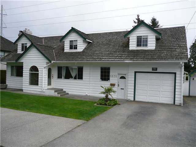 "Main Photo: 1570 53A Street in Tsawwassen: Cliff Drive House for sale in ""TSAWWASSEN HEIGHTS"" : MLS®# V867337"