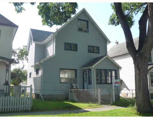 Main Photo: 382 COLLEGE Avenue in WINNIPEG: North End Residential for sale (North West Winnipeg)  : MLS®# 2917354