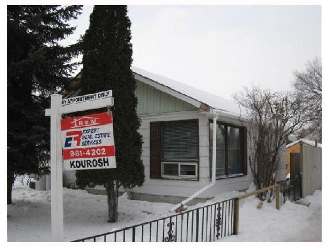 Main Photo: 540 HARROW Street in WINNIPEG: Fort Rouge / Crescentwood / Riverview Residential for sale (South Winnipeg)  : MLS®# 2801314