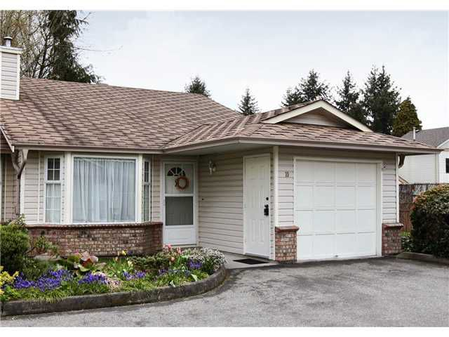 "Main Photo: 10 12049 217TH Street in Maple Ridge: West Central Townhouse for sale in ""THE BOARDWALK"" : MLS®# V819767"