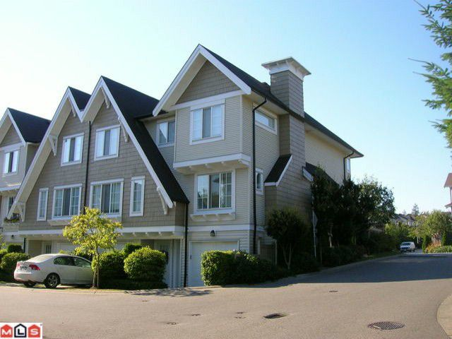 """Main Photo: 1 20540 66TH Avenue in Langley: Willoughby Heights Townhouse for sale in """"Amberleigh"""" : MLS®# F1019787"""