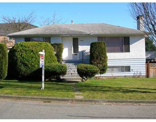 Main Photo: 8050 COLUMBIA ST in Vancouver: Marpole House for sale (Vancouver West)  : MLS®# V574616