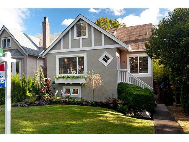 """Main Photo: 74 W 20TH Avenue in Vancouver: Cambie House for sale in """"Cambie"""" (Vancouver West)  : MLS®# V847335"""