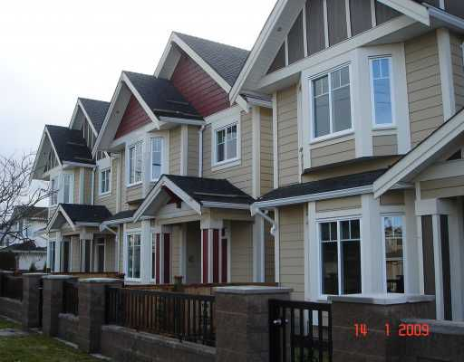 """Main Photo: 5 5280 WILLIAMS Road in Richmond: Steveston North Townhouse for sale in """"HOLLY VILLAS"""" : MLS®# V777447"""