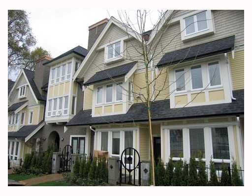 """Main Photo: 1616 ARBUTUS Street in Vancouver: Kitsilano Townhouse for sale in """"KITSILANO MEWS"""" (Vancouver West)  : MLS®# V802876"""