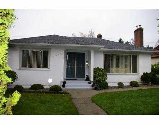 Main Photo: 7777 GRANVILLE ST in Vancouver: South Granville House for sale (Vancouver West)  : MLS®# V565534