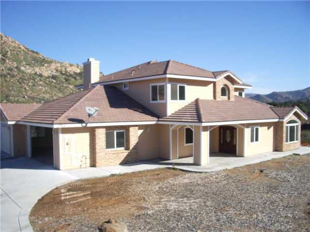 Main Photo: RAMONA House for sale : 4 bedrooms : 22954 Tombill Road