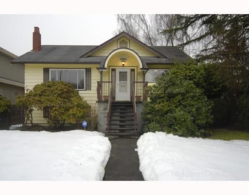 Main Photo: 1065 E 22ND Avenue in Vancouver: Fraser VE House for sale (Vancouver East)  : MLS®# V748365
