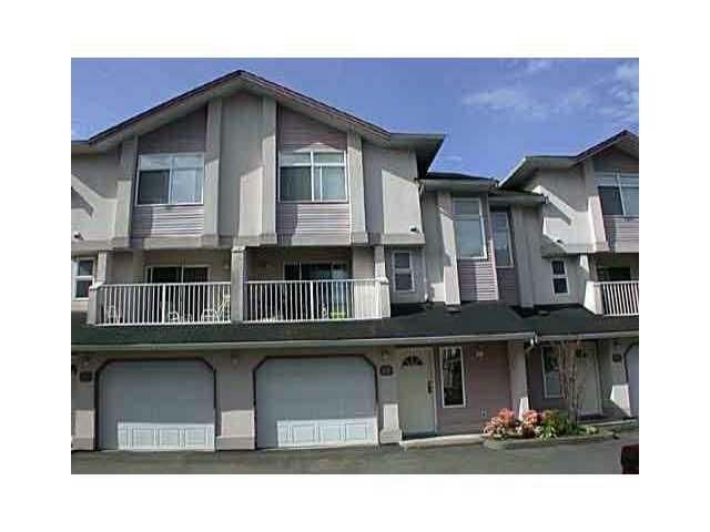 Main Photo: 26 2538 PITT RIVER Road in Port Coquitlam: Mary Hill Townhouse for sale : MLS®# V863108
