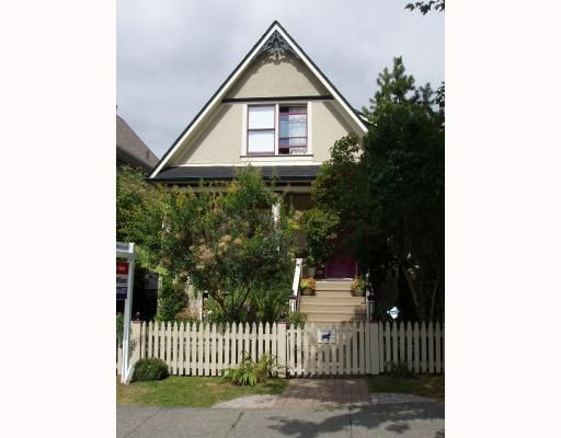 Main Photo: 1819 E 8TH Avenue in Vancouver: Grandview VE House for sale (Vancouver East)  : MLS®# V782842