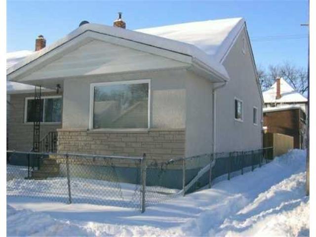 Main Photo: 332 TORONTO Street in WINNIPEG: West End / Wolseley Residential for sale (West Winnipeg)  : MLS®# 2700005