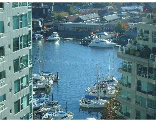"Main Photo: 1408 1500 HORNBY Street in Vancouver: False Creek North Condo for sale in ""888 BEACH"" (Vancouver West)  : MLS®# V720670"