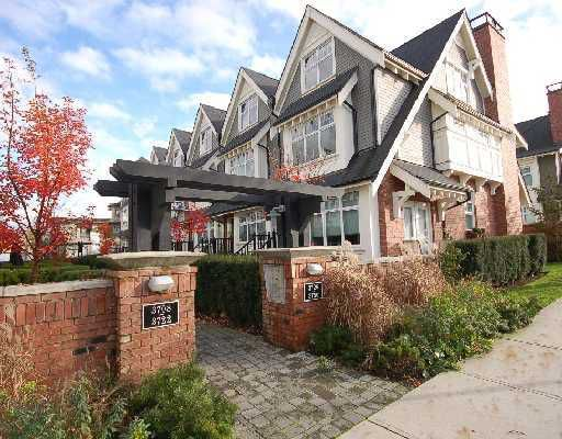 """Main Photo: 3728 WELWYN Street in Vancouver: Victoria VE Townhouse for sale in """"STORIES"""" (Vancouver East)  : MLS®# V767881"""