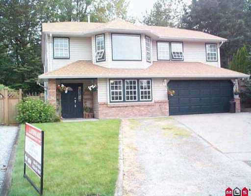 "Main Photo: 30930 GARDNER AV in Abbotsford: Abbotsford West House for sale in ""GARDNER PARK"" : MLS®# F2514037"