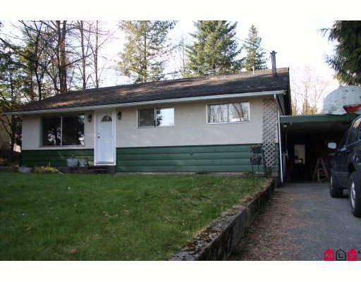 Main Photo: 29911 MACLURE Road in Abbotsford: Aberdeen House for sale : MLS®# F2906920
