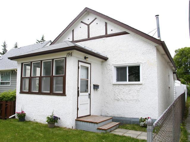 Main Photo: 196 Bertrand Street in WINNIPEG: St Boniface Residential for sale (South East Winnipeg)  : MLS®# 1009859