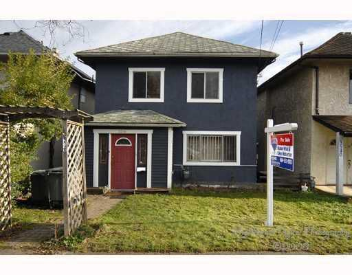 Main Photo: 3516 SOPHIA Street in Vancouver: Main House for sale (Vancouver East)  : MLS®# V748983