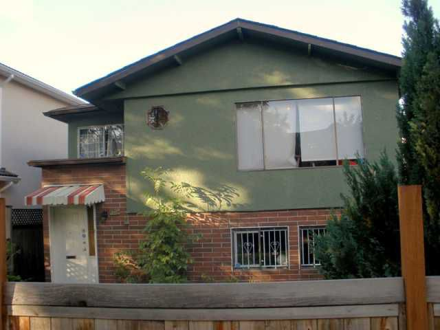 Main Photo: 1755 E 22ND Avenue in Vancouver: Victoria VE House for sale (Vancouver East)  : MLS®# V814670