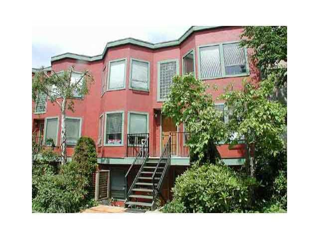 Main Photo: 8 1081 W 8TH Avenue in Vancouver: Fairview VW Townhouse for sale (Vancouver West)  : MLS®# V840030