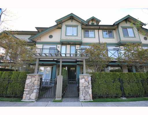 Main Photo: 3 6233 BIRCH Street in Richmond: McLennan North Townhouse for sale : MLS®# V764746