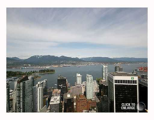 """Main Photo: 5303 1128 W GEORGIA Street in Vancouver: West End VW Condo for sale in """"SHANGRI-LA"""" (Vancouver West)  : MLS®# V757187"""