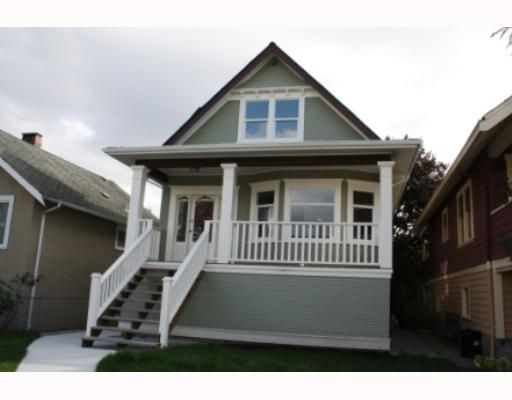 Main Photo: 2740 PANDORA Street in Vancouver: Hastings East House for sale (Vancouver East)  : MLS®# V738324
