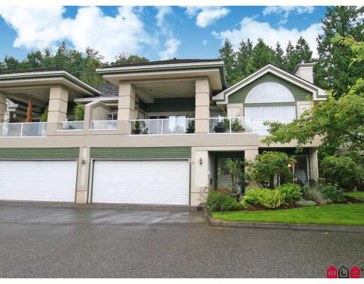 "Main Photo: 33 4001 OLD CLAYBURN Road in Abbotsford: Abbotsford East Townhouse for sale in ""CEDAR SPRINGS"" : MLS®# F2901571"
