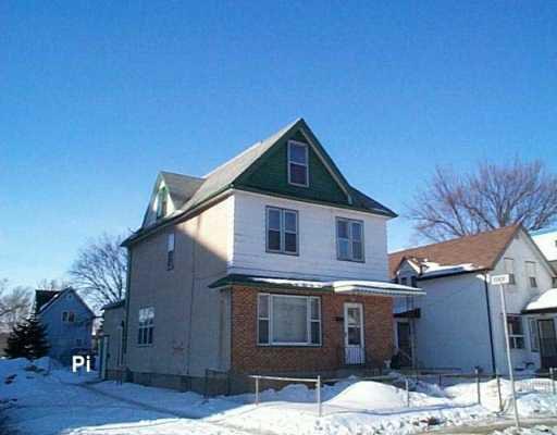 Main Photo:  in WINNIPEG: North End Duplex for sale (North West Winnipeg)  : MLS®# 2603527