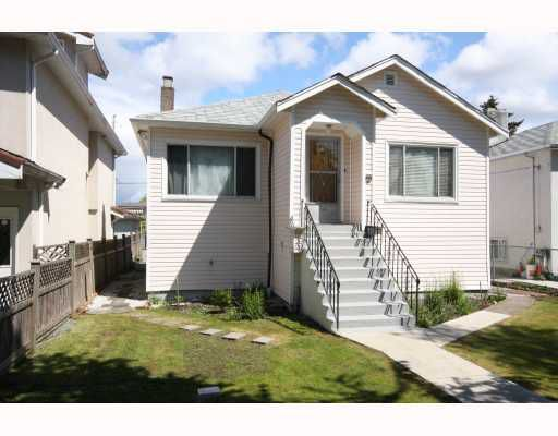 Main Photo: 753 E 20TH Avenue in Vancouver: Fraser VE House for sale (Vancouver East)  : MLS®# V767661