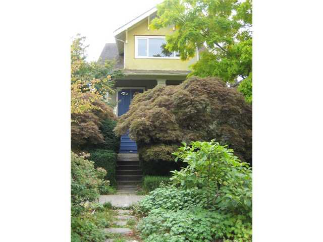 "Main Photo: 122 W 20TH Avenue in Vancouver: Cambie House for sale in ""CAMBIE VILLAGE"" (Vancouver West)  : MLS®# V851048"