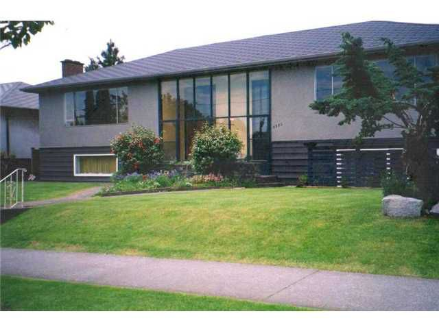 Main Photo: 6385 CAMBIE Street in Vancouver: Oakridge VW House Duplex for sale (Vancouver West)  : MLS®# V857570