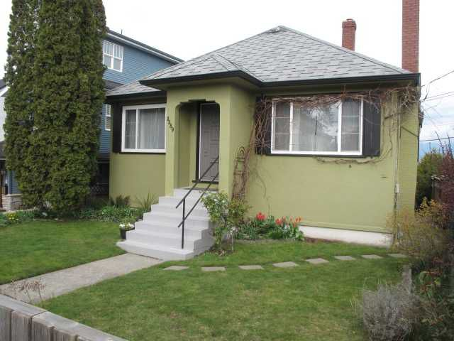 Main Photo: 3289 E 25TH Avenue in Vancouver: Renfrew Heights House for sale (Vancouver East)  : MLS®# V817270